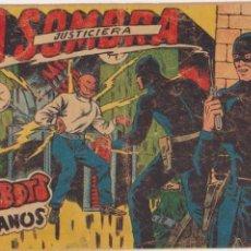 Tebeos: LA SOMBRA JUSTICIERA Nº 38. FERMA 1954.. Lote 97112755