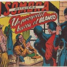 Tebeos: LA SOMBRA JUSTICIERA Nº 13. FERMA 1954.. Lote 97113167