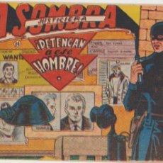Tebeos: LA SOMBRA JUSTICIERA Nº 14. FERMA 1954.. Lote 97113355