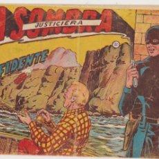 Tebeos: LA SOMBRA JUSTICIERA Nº 20. FERMA 1954.. Lote 97114039