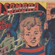 Tebeos: LA SOMBRA JUSTICIERA Nº 25. FERMA 1954.. Lote 97114267