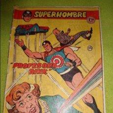 Tebeos: SUPERHOMBRE Nº NUMERO 64 --- ORIGINAL ---- EDITORIAL FERMA. Lote 97458115