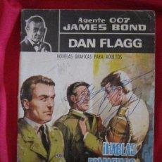 Tebeos: AGENTE 007 JAMES BOND Nº 16 DAN FLAGG ¡HABLAS DEMASIADO IMPOSTOR! FERMA, 1965. TEBENI. Lote 97498583