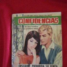 Tebeos: CONFIDENCIAS Nº ? AMADO TENORIO. EDIT. FERMA 1962 COLECCIÓN DAMITA TEBENI. Lote 97499359
