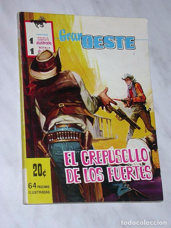 GRAN OESTE Nº 1. EL CREPÚSCULO DE LOS FUERTES. FERMA, 1962. ANTHONY PERKINS Y BRIGITTE BARDOT (Tebeos y Comics - Ferma - Gran Oeste)