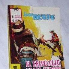 Tebeos: GRAN OESTE Nº 1. EL CREPÚSCULO DE LOS FUERTES. FERMA, 1962. ANTHONY PERKINS Y BRIGITTE BARDOT. Lote 97753330