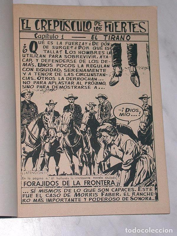 Tebeos: GRAN OESTE Nº 1. EL CREPÚSCULO DE LOS FUERTES. FERMA, 1962. ANTHONY PERKINS Y BRIGITTE BARDOT - Foto 2 - 97753330