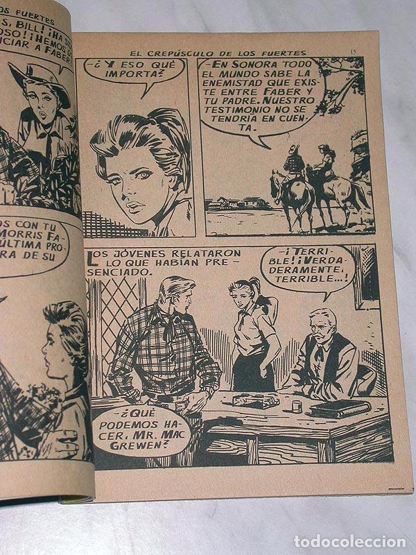 Tebeos: GRAN OESTE Nº 1. EL CREPÚSCULO DE LOS FUERTES. FERMA, 1962. ANTHONY PERKINS Y BRIGITTE BARDOT - Foto 3 - 97753330