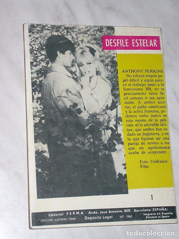 Tebeos: GRAN OESTE Nº 1. EL CREPÚSCULO DE LOS FUERTES. FERMA, 1962. ANTHONY PERKINS Y BRIGITTE BARDOT - Foto 4 - 97753330