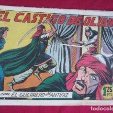 Tebeos: EL GUERRERO DEL ANTIFAZ - EL CASTIGO DE OLIAN. Lote 99502395
