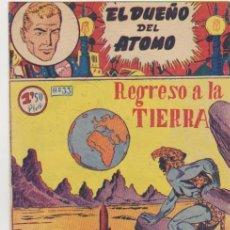 Tebeos: EL DUEÑO DEL ATOMO Nº 33. FERMA 1956. ULTIMO DE LA COLECCIÓN. MUY DIFICIL ASÍ.... Lote 100540031