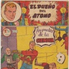 Tebeos: EL DUEÑO DEL ATOMO Nº 24. FERMA 1956. . Lote 100541135
