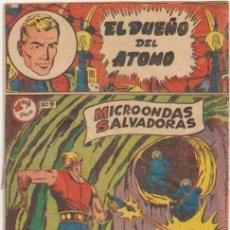 BDs: EL DUEÑO DEL ATOMO Nº 9. FERMA 1956. DIFICIL.... Lote 100541403
