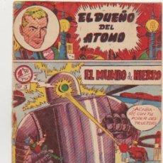 Tebeos: EL DUEÑO DEL ATOMO Nº 3. FERMA 1956. . Lote 100542543