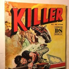 Tebeos: KILLER Nº 1. DS COMICS.. Lote 101160967