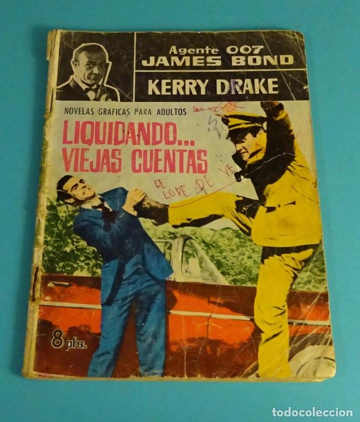 JAMES BOND EN CASINO ROYALE. HERRY DRAKE EN LIQUIDANDO ... VIEJAS CUENTAS (Tebeos y Comics - Ferma - Otros)