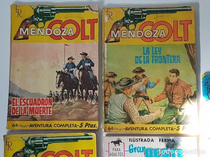 Tebeos: LOTE DE 5 TEBEOS HISTÓRIAS DEL OESTE ( AÑOS 60 ) - Foto 2 - 101912231