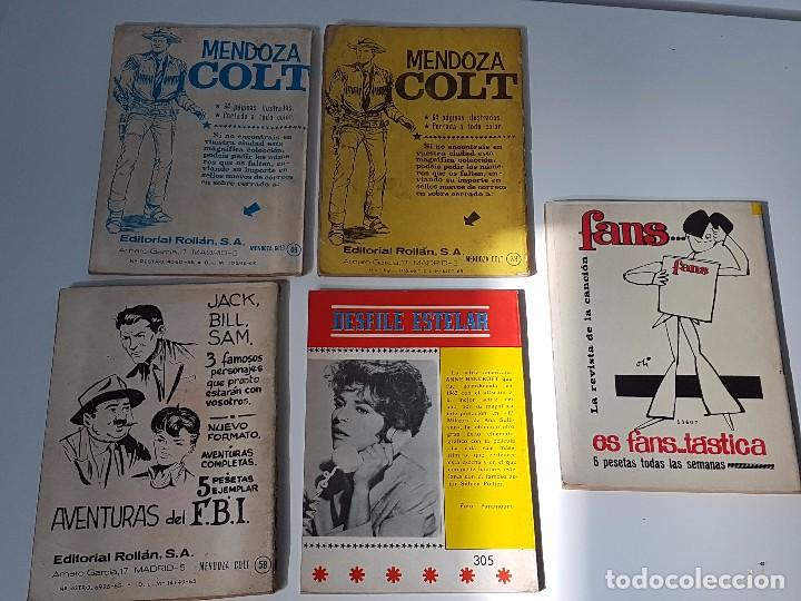 Tebeos: LOTE DE 5 TEBEOS HISTÓRIAS DEL OESTE ( AÑOS 60 ) - Foto 6 - 101912231