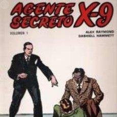 Tebeos: LOTE DE 7 NUMEROS DEL 1 AL 7 DE AGENTE SECRETO X-9 - ALEX RAYMOND DASHIELL HAMMETT. Lote 103631491