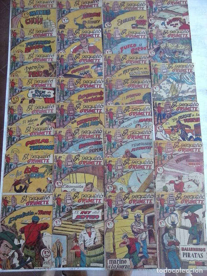 Tebeos: EL PEQUEÑO GRUMETE ORIGINAL 1958 FERMA - 30 TEBEOS , 1 AL 25, 27 ,30,32,33,34 VER PORTADAS - Foto 2 - 103973527