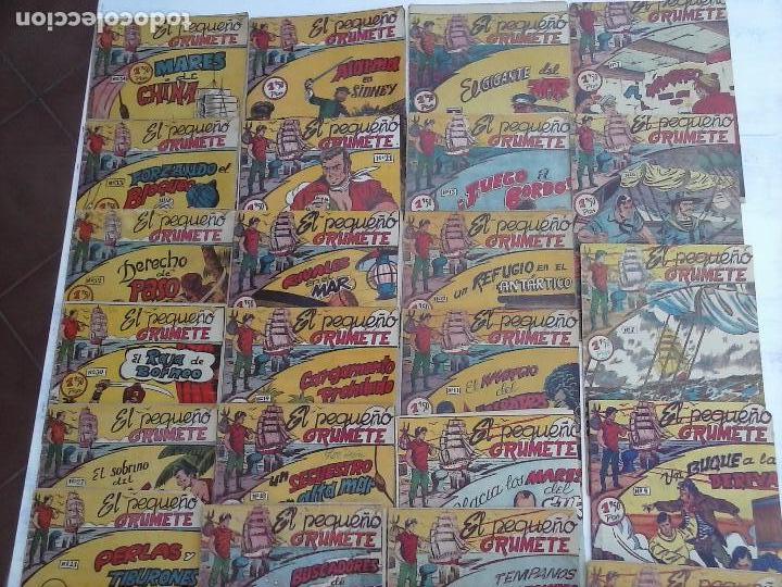 Tebeos: EL PEQUEÑO GRUMETE ORIGINAL 1958 FERMA - 30 TEBEOS , 1 AL 25, 27 ,30,32,33,34 VER PORTADAS - Foto 3 - 103973527