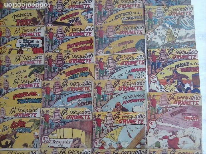 Tebeos: EL PEQUEÑO GRUMETE ORIGINAL 1958 FERMA - 30 TEBEOS , 1 AL 25, 27 ,30,32,33,34 VER PORTADAS - Foto 4 - 103973527