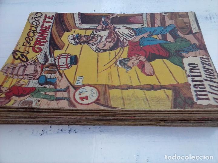 Tebeos: EL PEQUEÑO GRUMETE ORIGINAL 1958 FERMA - 30 TEBEOS , 1 AL 25, 27 ,30,32,33,34 VER PORTADAS - Foto 5 - 103973527