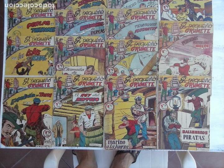 Tebeos: EL PEQUEÑO GRUMETE ORIGINAL 1958 FERMA - 30 TEBEOS , 1 AL 25, 27 ,30,32,33,34 VER PORTADAS - Foto 6 - 103973527