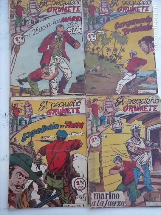 Tebeos: EL PEQUEÑO GRUMETE ORIGINAL 1958 FERMA - 30 TEBEOS , 1 AL 25, 27 ,30,32,33,34 VER PORTADAS - Foto 8 - 103973527