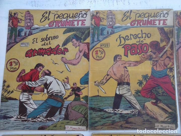 Tebeos: EL PEQUEÑO GRUMETE ORIGINAL 1958 FERMA - 30 TEBEOS , 1 AL 25, 27 ,30,32,33,34 VER PORTADAS - Foto 10 - 103973527