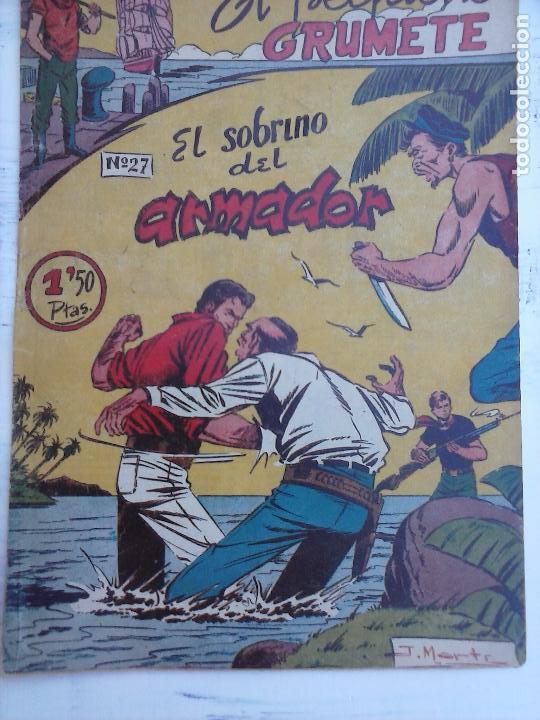 Tebeos: EL PEQUEÑO GRUMETE ORIGINAL 1958 FERMA - 30 TEBEOS , 1 AL 25, 27 ,30,32,33,34 VER PORTADAS - Foto 12 - 103973527