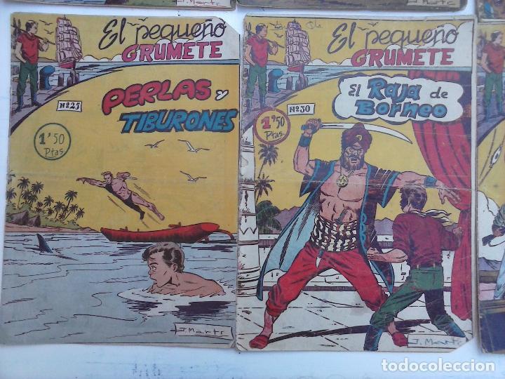 Tebeos: EL PEQUEÑO GRUMETE ORIGINAL 1958 FERMA - 30 TEBEOS , 1 AL 25, 27 ,30,32,33,34 VER PORTADAS - Foto 13 - 103973527