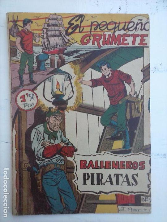 Tebeos: EL PEQUEÑO GRUMETE ORIGINAL 1958 FERMA - 30 TEBEOS , 1 AL 25, 27 ,30,32,33,34 VER PORTADAS - Foto 14 - 103973527