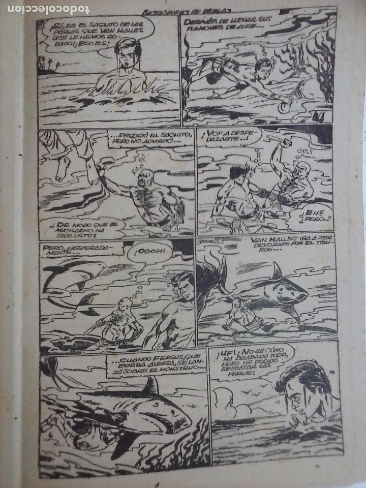 Tebeos: EL PEQUEÑO GRUMETE ORIGINAL 1958 FERMA - 30 TEBEOS , 1 AL 25, 27 ,30,32,33,34 VER PORTADAS - Foto 16 - 103973527