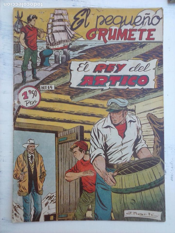 Tebeos: EL PEQUEÑO GRUMETE ORIGINAL 1958 FERMA - 30 TEBEOS , 1 AL 25, 27 ,30,32,33,34 VER PORTADAS - Foto 17 - 103973527