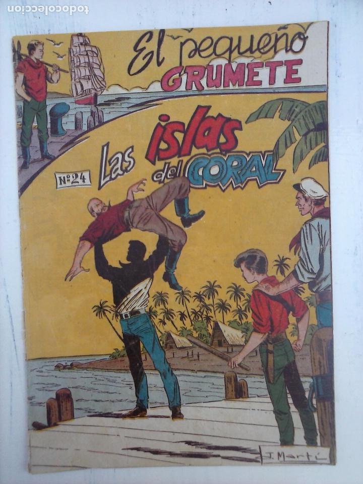 Tebeos: EL PEQUEÑO GRUMETE ORIGINAL 1958 FERMA - 30 TEBEOS , 1 AL 25, 27 ,30,32,33,34 VER PORTADAS - Foto 19 - 103973527