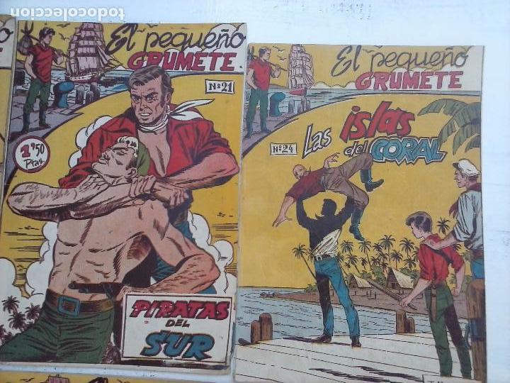 Tebeos: EL PEQUEÑO GRUMETE ORIGINAL 1958 FERMA - 30 TEBEOS , 1 AL 25, 27 ,30,32,33,34 VER PORTADAS - Foto 21 - 103973527