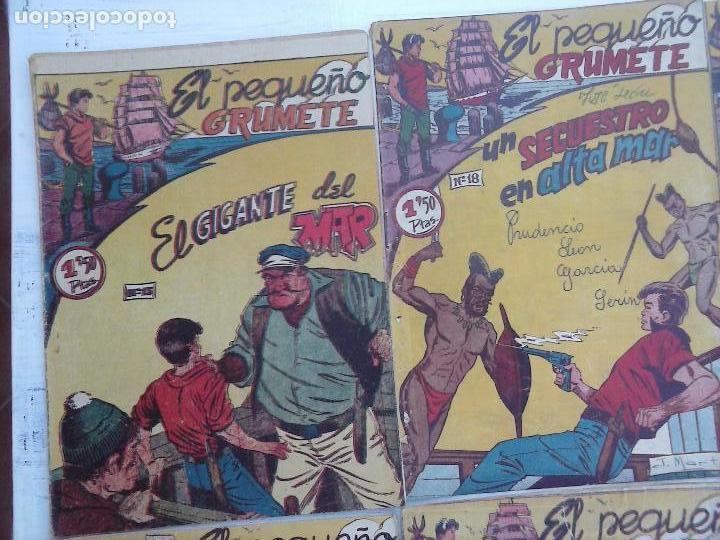 Tebeos: EL PEQUEÑO GRUMETE ORIGINAL 1958 FERMA - 30 TEBEOS , 1 AL 25, 27 ,30,32,33,34 VER PORTADAS - Foto 22 - 103973527