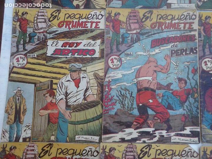Tebeos: EL PEQUEÑO GRUMETE ORIGINAL 1958 FERMA - 30 TEBEOS , 1 AL 25, 27 ,30,32,33,34 VER PORTADAS - Foto 23 - 103973527