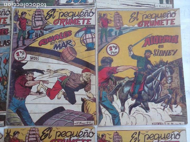 Tebeos: EL PEQUEÑO GRUMETE ORIGINAL 1958 FERMA - 30 TEBEOS , 1 AL 25, 27 ,30,32,33,34 VER PORTADAS - Foto 24 - 103973527