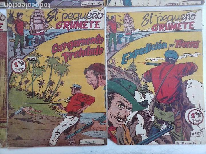 Tebeos: EL PEQUEÑO GRUMETE ORIGINAL 1958 FERMA - 30 TEBEOS , 1 AL 25, 27 ,30,32,33,34 VER PORTADAS - Foto 25 - 103973527
