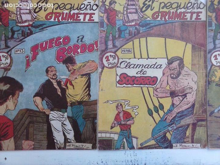 Tebeos: EL PEQUEÑO GRUMETE ORIGINAL 1958 FERMA - 30 TEBEOS , 1 AL 25, 27 ,30,32,33,34 VER PORTADAS - Foto 26 - 103973527