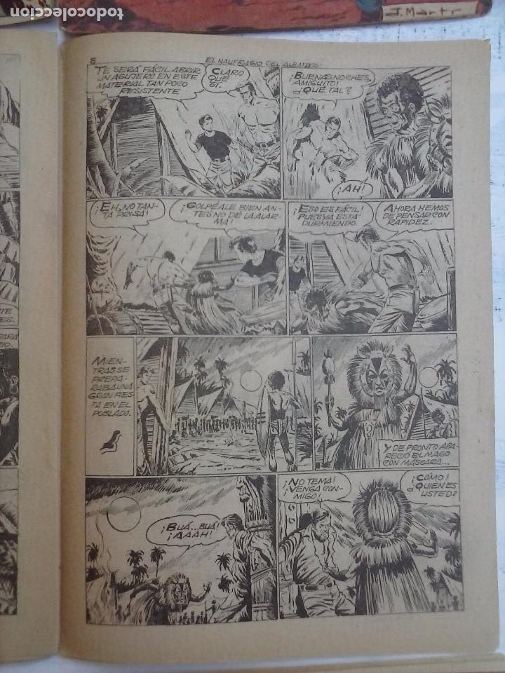 Tebeos: EL PEQUEÑO GRUMETE ORIGINAL 1958 FERMA - 30 TEBEOS , 1 AL 25, 27 ,30,32,33,34 VER PORTADAS - Foto 27 - 103973527