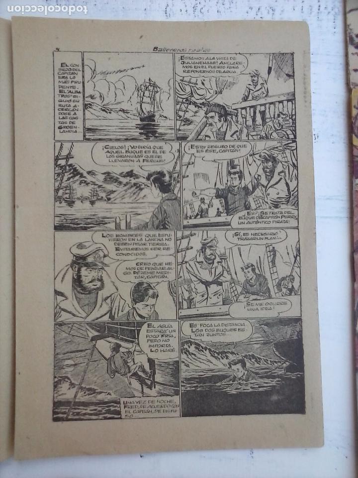 Tebeos: EL PEQUEÑO GRUMETE ORIGINAL 1958 FERMA - 30 TEBEOS , 1 AL 25, 27 ,30,32,33,34 VER PORTADAS - Foto 29 - 103973527