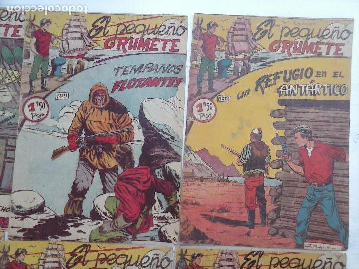 Tebeos: EL PEQUEÑO GRUMETE ORIGINAL 1958 FERMA - 30 TEBEOS , 1 AL 25, 27 ,30,32,33,34 VER PORTADAS - Foto 31 - 103973527