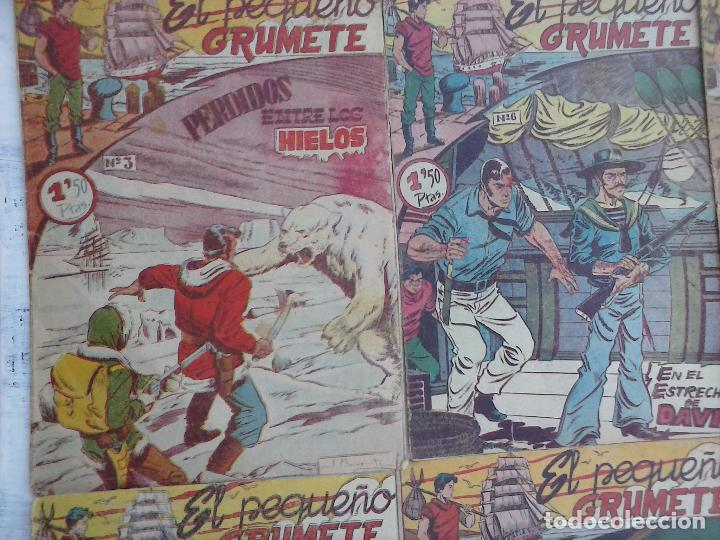 Tebeos: EL PEQUEÑO GRUMETE ORIGINAL 1958 FERMA - 30 TEBEOS , 1 AL 25, 27 ,30,32,33,34 VER PORTADAS - Foto 32 - 103973527