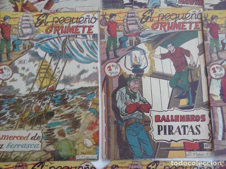 Tebeos: EL PEQUEÑO GRUMETE ORIGINAL 1958 FERMA - 30 TEBEOS , 1 AL 25, 27 ,30,32,33,34 VER PORTADAS - Foto 33 - 103973527