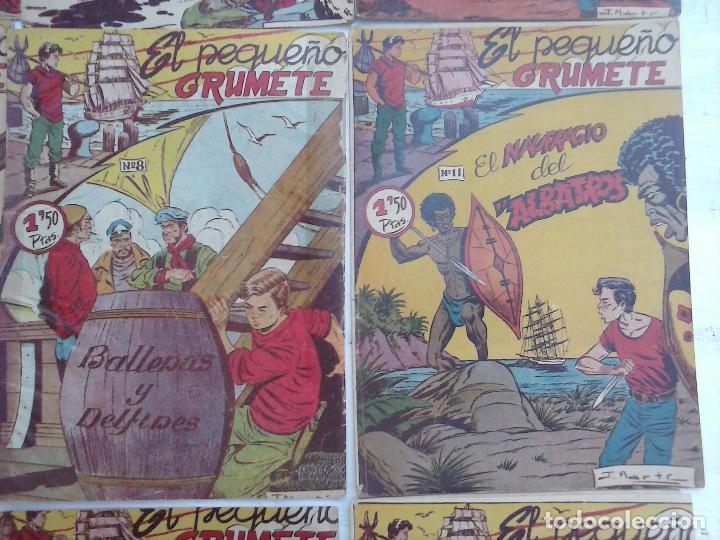 Tebeos: EL PEQUEÑO GRUMETE ORIGINAL 1958 FERMA - 30 TEBEOS , 1 AL 25, 27 ,30,32,33,34 VER PORTADAS - Foto 34 - 103973527