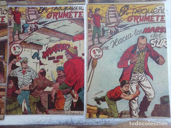 Tebeos: EL PEQUEÑO GRUMETE ORIGINAL 1958 FERMA - 30 TEBEOS , 1 AL 25, 27 ,30,32,33,34 VER PORTADAS - Foto 35 - 103973527