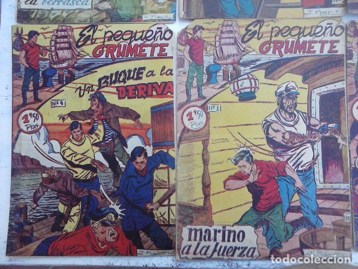 Tebeos: EL PEQUEÑO GRUMETE ORIGINAL 1958 FERMA - 30 TEBEOS , 1 AL 25, 27 ,30,32,33,34 VER PORTADAS - Foto 36 - 103973527